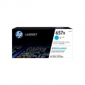 Консуматив HP 657X High Yield Cyan Original LaserJet Toner Cartridge (CF471X)  SN: CF471X