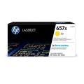 Консуматив HP 657X High Yield Yellow Original LaserJet Toner Cartridge (CF472X)  SN: CF472X
