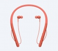 Слушалки Sony Hi-Res Headset WI-H700, red  SN: WIH700R.CE7