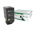 Консуматив Lexmark CS727de/728de/CX727de Standard Standard Yellow Return Programme Toner Cartridge  SN: 75B20Y0