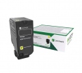 Консуматив Lexmark CS827de, CX827de Standard Yellow Return Programme Toner Cartridge  SN: 73B20Y0