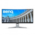 "Монитор BenQ EX3501R, 35"" VA, 100Hz, 4ms, 3440x1440, 21:9, 100% sRGB, Freesync, 1800R Curve, Flicker-free, LBL, B.I.+, 2500:1, DCR 20M:1, 8 bit, 300 cd/m2, USB Type-C, HDMI x2, DP, USB hub, Height Adj., Tilt, Gray  SN: 9H.LGJLA.TSE"
