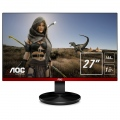 "Монитор AOC G2790PX Gaming 27"" Wide TN LED, 144Hz FreeSynk, 1 ms, 1000:1, 20М:1 DCR, 400 cd/m2, FullHD 1920x1080, USB, D-sub, HDMI, DP, Speakers, Black/Red  SN: G2790PX"