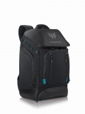 "Раница Acer Predator 17.3"" Gaming Utility Backpack Black with Teal Blue  SN: NP.BAG1A.288"