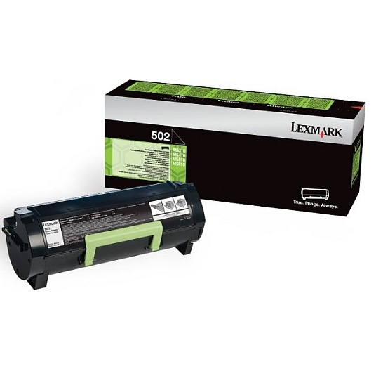 Консуматив Lexmark 502 Return Program Toner Cartridge  SN: 50F2000