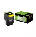 Консуматив Lexmark 702Y Yellow Return Program Toner Cartridge  SN: 70C20Y0