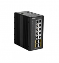 Комутатор D-Link 14 Port L2 Managed Switch with 10 x 10/100/1000BaseT(X) ports (8 PoE) & 4 x 100/1000BaseSFP ports  SN: DIS-300G-14PSW