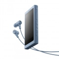 Mp3 плейър Sony NW-A45HN, 16GB, Hi-Res Audio, 7.8cm screen, NFC/Bluetooth, Noise Cancelling headphones, blue  SN: NWA45HNL.CEW