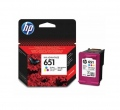 Консуматив HP 651 Tri-colour Ink Cartridge   SN: C2P11AE