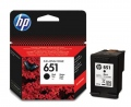 Консуматив HP 651 Black Ink Cartridge   SN: C2P10AE