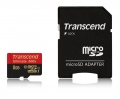 Памет Transcend 8GB microSDHC UHS-I (with adapter, Class 10)  SN: TS8GUSDHC10U1