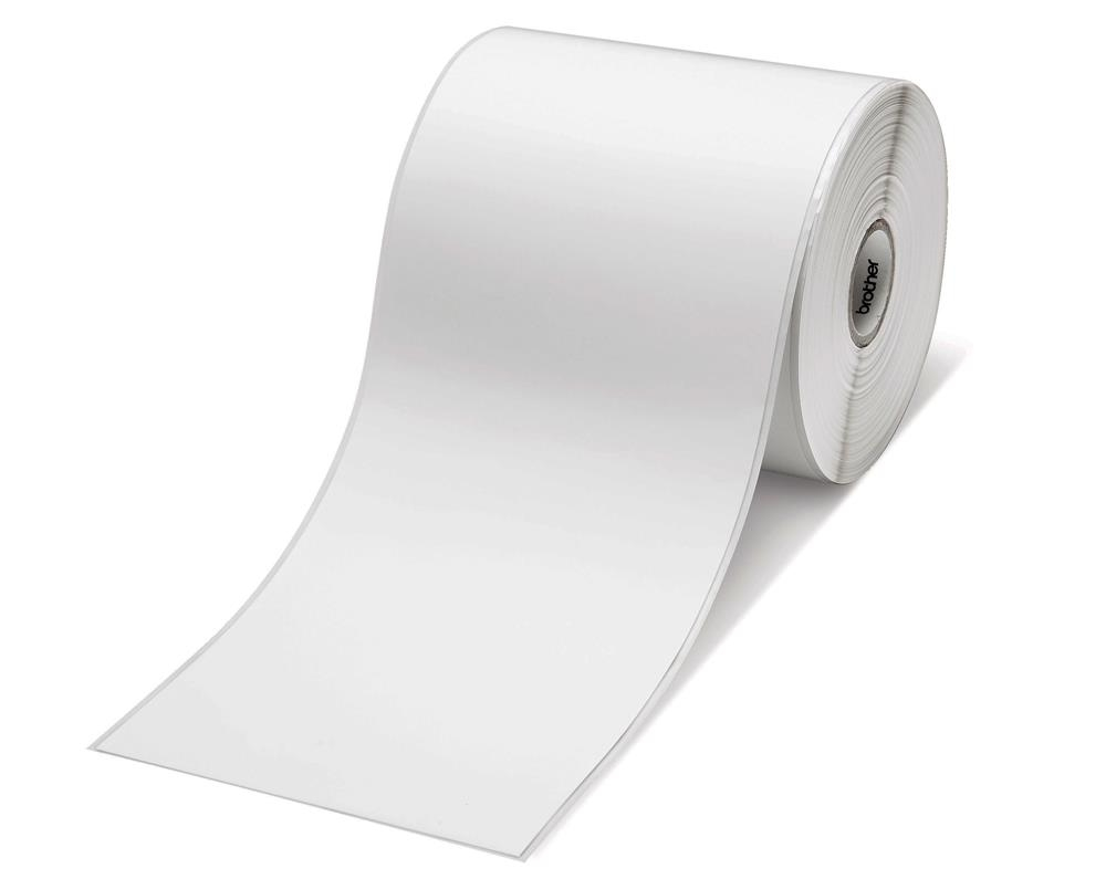 Консуматив Brother RD-S07E5 White Paper Label Roll, Continuous 58mm x 86m  SN: RDS07E5