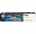 Консуматив HP 981A Yellow Original PageWide Cartridge  SN: J3M70A