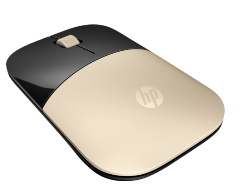 Мишка HP Z3700 Gold Wireless Mouse  SN: X7Q43AA