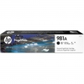 Консуматив HP 981A Black Original PageWide Cartridge  SN: J3M71A
