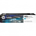 Консуматив HP 981X High Yield Cyan Original PageWide Cartridge  SN: L0R09A