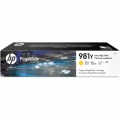 Консуматив HP 981Y Extra High Yield Yellow Original PageWide Cartridge  SN: L0R15A