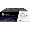 Консуматив HP 312A 3-pack CYM Original LaserJet Toner Cartridges (CF440AM)  SN: CF440AM