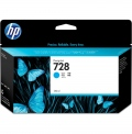 Консуматив HP 728 130-ml Cyan DesignJet Ink Cartridge  SN: F9J67A