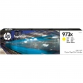 Консуматив HP 973X High Yield Yellow Original PageWide Cartridge  SN: F6T83AE