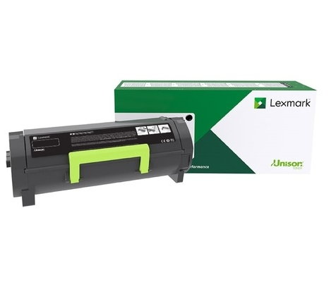 Консуматив Lexmark 56F2X00 Black Extra High Yield Return Program Toner Cartridge 20,000 pages  SN: 56F2X00