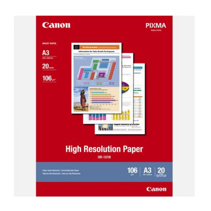 Хартия Canon HR-101 A3 20 sheets  SN: 1033A006AB