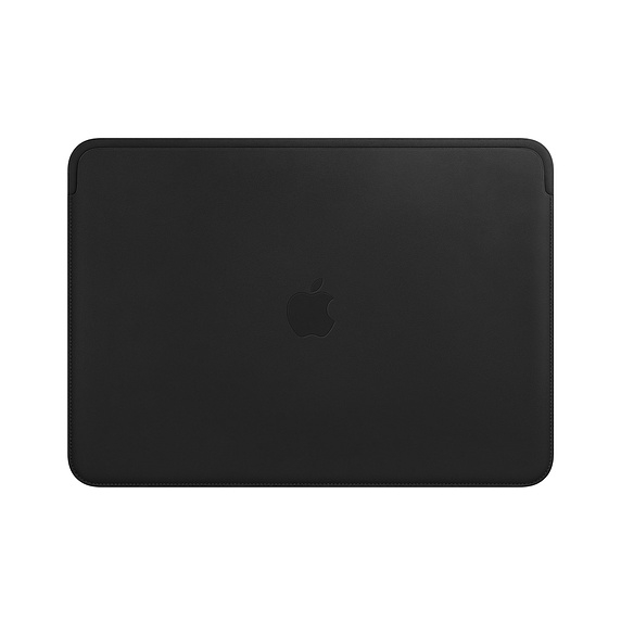 Калъф Apple Leather Sleeve for 13-inch MacBook Pro - Black  SN: MTEH2ZM/A