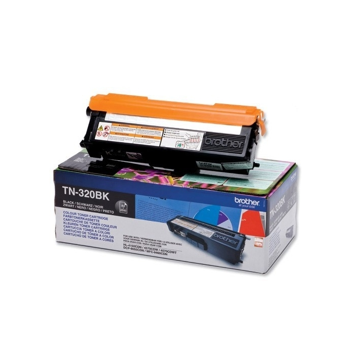 Консуматив Brother TN-320BK Toner Cartridge Standard  SN: TN320BK