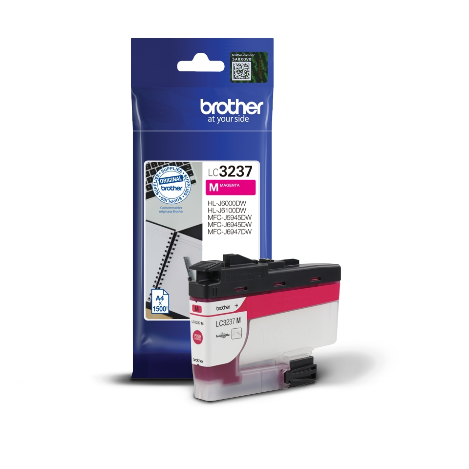 Консуматив Brother LC-3237 Magenta Ink Cartridge  SN: LC3237M