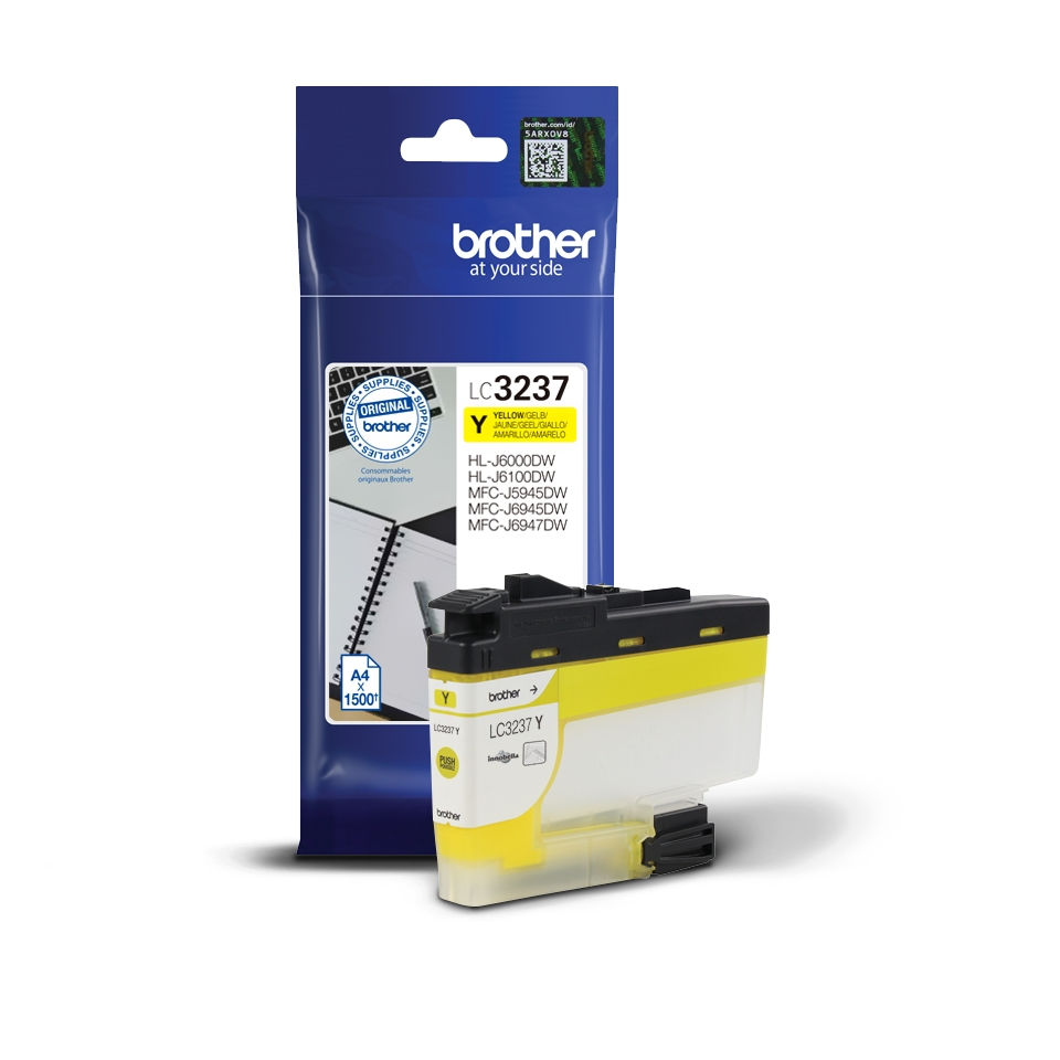 Консуматив Brother LC-3237 Yellow Ink Cartridge  SN: LC3237Y