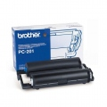 Консуматив Brother PC-201 Ribbon Cartridge for FAX-1010/20/30, FAX-1010Plus/1030Plus, FAX-1010e/1030e, MFC-1025 series  SN: PC201
