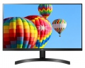 "Монитор LG 27MK600M-B, 27"" IPS, LED AG, 5ms GTG, 1000:1, Mega DFC, 250cd/m2, Full HD 1920x1080, Free-sync, D-Sub, HDMI, Tilt, H/P out, Glossy Black  SN: 27MK600M-B"