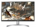 "Монитор LG 27UL600-W, 27"" Wide LED, IPS Panel Anti-Glare, sRGB 99%, Cinema Screen, 5ms, 1000:1, Mega DFC, 350 cd/m2, 3840x2160, VESA DisplayHDR 400, HDMI, DisplayPort, FreeSync, Headphone out, Tilt, Black  SN: 27UL600-W"