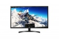 "Монитор LG 32ML600M-B, 32"" Full HD IPS LED Monitor AG, IPS Panel, 5ms, 1200:1, 300 cd/m2, 1920x1080, DCI-P3 95% Color Gamut, HDR10,  D-Sub, HDMI, Headphone Out, Tilt, Black  SN: 32ML600M-B"