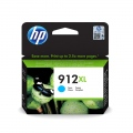 Консуматив HP 912XL High Yield Cyan Original Ink Cartridge  SN: 3YL81AE
