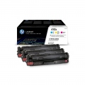 Консуматив HP 410X 3-pack High Yield Cyan/Magenta/Yellow Original LaserJet Toner Cartridges  SN: CF252XM
