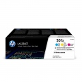 Консуматив HP 201X 3-pack High Yield Cyan/Magenta/Yellow Original LaserJet Toner Cartridges  SN: CF253XM