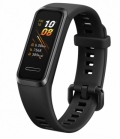 "Часовник Huawei Band 4, 0.96"" TFT color screen,32MB Flash, 3-axis motion sensor,battery 91mAh, Water resistance 5ATM, BT,  Graphite Black  SN: 6901443328017"
