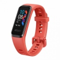 "Часовник Huawei Band 4, 0.96"" TFT color screen,32MB Flash, 3-axis motion sensor,battery 91mAh, Water resistance 5ATM, BT, Amber Sunrise  SN: 6901443328024"
