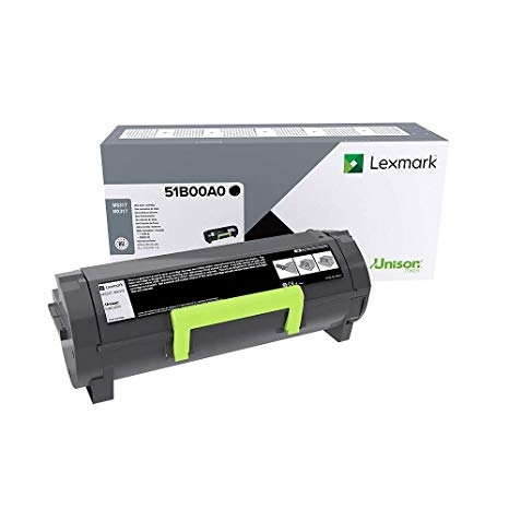 Консуматив Lexmark MS/MX317 Regular open channel Black CRTG  SN: 51B00A0