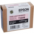 Консуматив Epson T580 Vivid Light Magenta for Stylus Pro 3880 80ml   SN: C13T580B00