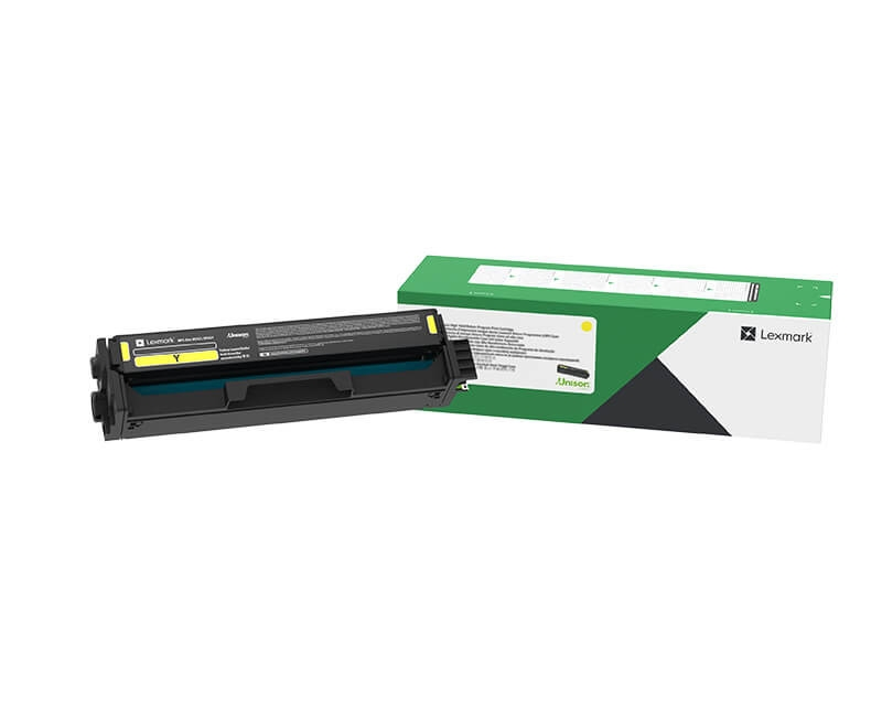 Консуматив Lexmark C3220Y0 Yellow Return Programme Print Cartridge  SN: C3220Y0