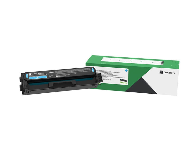 Консуматив Lexmark C3220C0 Cyan Return Programme Print Cartridge  SN: C3220C0