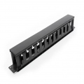 "Аксесоар Formrack 19"" 1U Cable Management Panel with PVC trunking cut 1U 482x88x48mm  SN: F0565O1U-P"