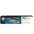 Консуматив HP 982X High Yield Yellow Original PageWide Cartridge  SN: T0B29A