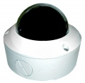 VERINT S2700e-VR-XT DVD-quality, vandal-resistant NTSC IP mini-dome camera with Day-to-Night function and extended temperature (-30°C to 50°C, w/heater); PoE or 12VDC and 24V AC for the heater (12V DC and 24V AC power supplies are included)