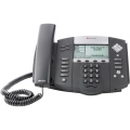 POLYCOM SoundPoint IP 560 SIP 4 line Gigabit Ethernet IP desktop phone with HD voice. Includes AC power supply with plug for Continental Europe. PC2200-12560-122