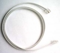 PH-PC-1M Phone Patch cable with RJ-11 connectors - 1m.