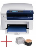 Xerox WorkCentre 3045B, P/C/S, A4, Laser, 24ppm, max 30K pages per month, 1200 x 1200 dpi, 128 MB, USB + тонер за 1000 стр. 3045V_B+106R02180