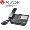 POLYCOM CX700 IP Desktop Phone for Microsoft Office Communications Server 2007. POE and AC adapter with Euro plug. English. - PC2200-31400-025